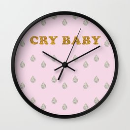 Lucent Tears (Cry Baby) Wall Clock