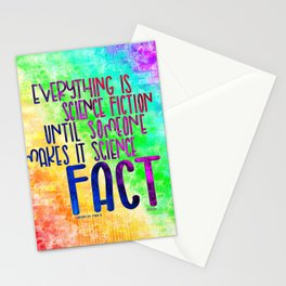 Science Fact (Warcross) Stationery Cards