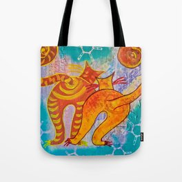 Cat Paradise Tote Bag