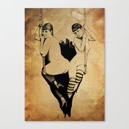 Trapeze Canvas Print