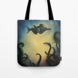 20,000 Leagues Under The Sea - Jules Verne Tote Bag