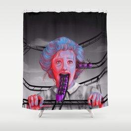 Motion Sickness  Shower Curtain