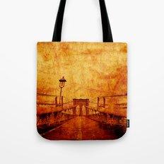 Brooklyn Burning Tote Bag