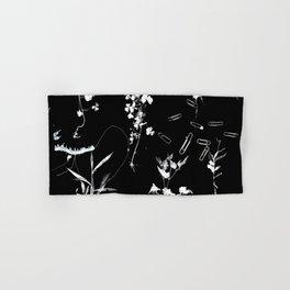 Plants & Paper clips Photogram Hand & Bath Towel