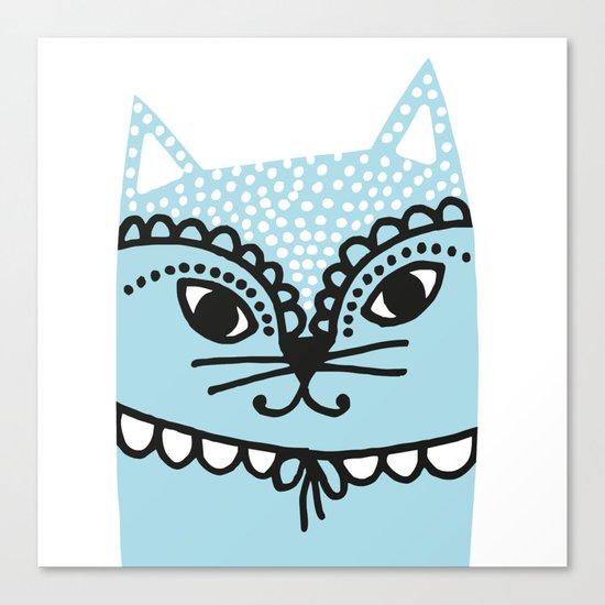 Katze #1 Canvas Print