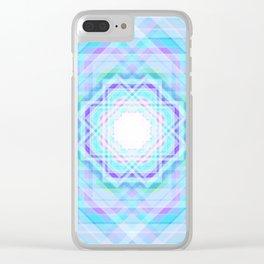 11 E=BlurrySpiritual Clear iPhone Case