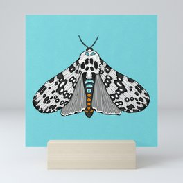 Leopard Moth Mini Art Print