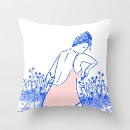 Sprung Throw Pillow