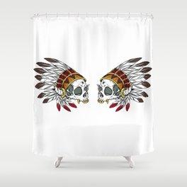 Geronimo's Head Shower Curtain
