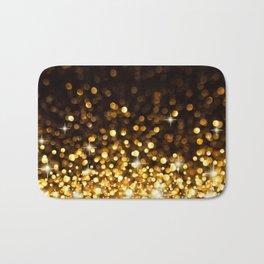 Gold Ombre Glitter Bath Mat