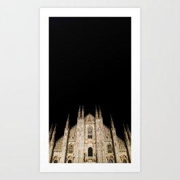 Duomo in the Dark Art Print