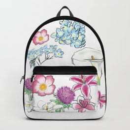 Flower Study Backpack