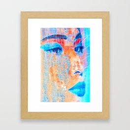 Asia Girl three Framed Art Print
