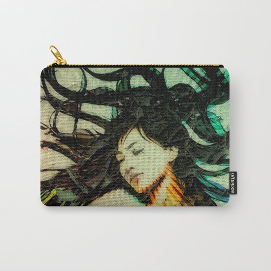 Girl's Dream in a Dream. Carry-All Pouch