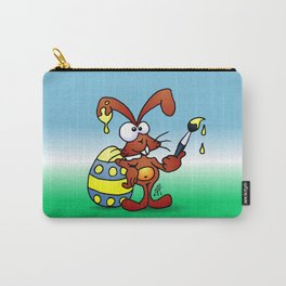 The Easter Bunny wishes you Happy Easter Carry-All Pouch