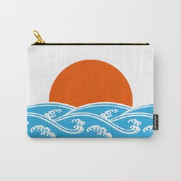 Japanese Tsunami  Carry-All Pouch