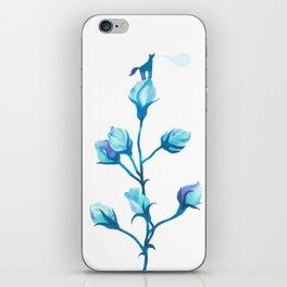 Baby Blue #2 iPhone Skin
