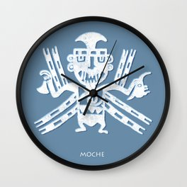 Moche Wall Clock