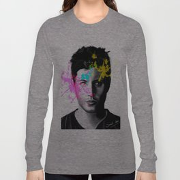 Jensen Ackles Art Long Sleeve T-shirt