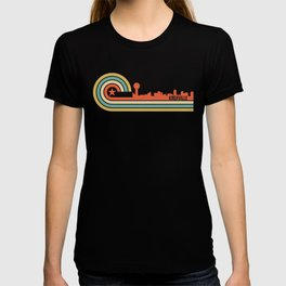 Retro Knoxville Tennessee Skyline T-shirt