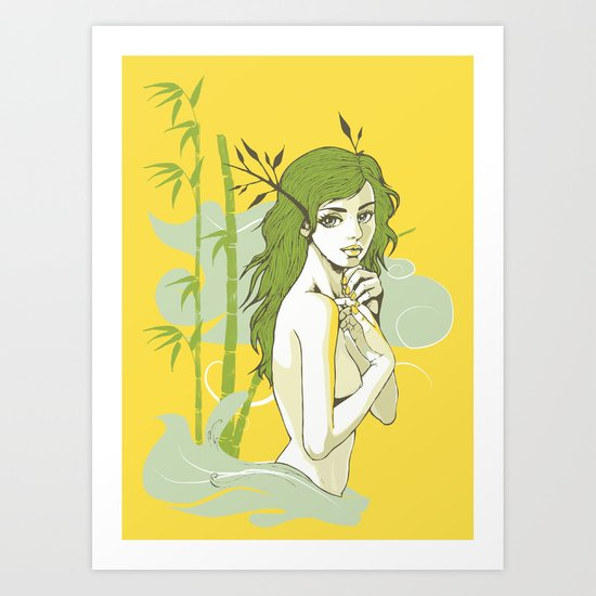 The Strong and The Beautiful Art Print