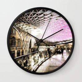 Futuristic London Art Wall Clock