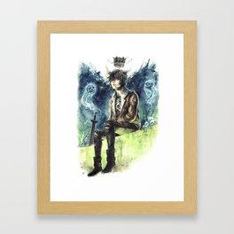 Nico Di Angelo - Son Of Hades Framed Art Print