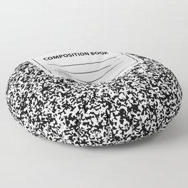 Composition Book Floor Pillow