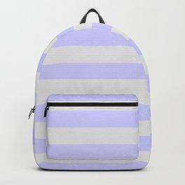 Lavender & Gray Stripes Backpack