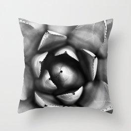 Cactus Close Up Throw Pillow