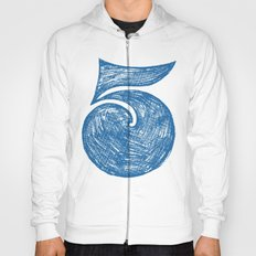 Big Fat 5 - Blue Number Five Hoody