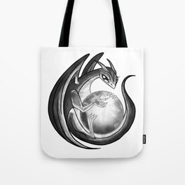 Scrying Dragon Tote Bag