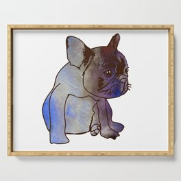 French Bulldog Puppy Cute baby Dog Serving Tray