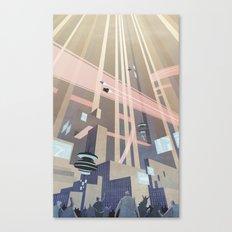 Aeropolis - F-Zero GP Canvas Print