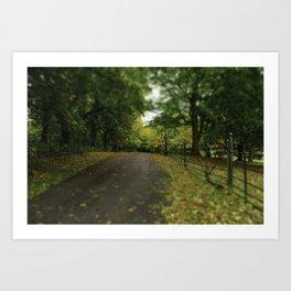 Change to Autumn Art Print