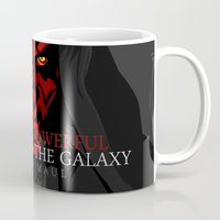 sith Mugs featuring sith lord by shizoy