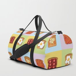 Toasty Toppings Duffle Bag