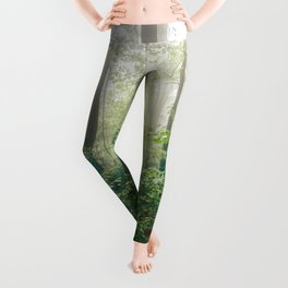 Smoky Mountain Forest Adventure - National Park Nature Photography Leggings