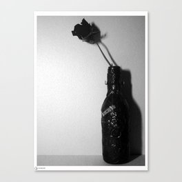 Rose and wine I Canvas Print
