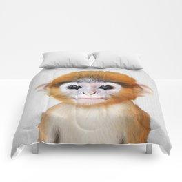 Baby Monkey - Colorful Comforters