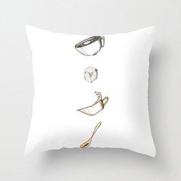 CoffeTime Throw Pillow