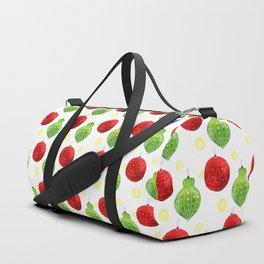 Watercolor Ornaments Duffle Bag