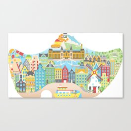 My Amsterdam Canvas Print