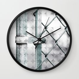 CHAINLINK FENCE Wall Clock