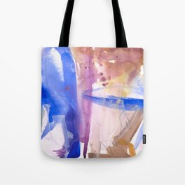 Watercolor Worlds Tote Bag