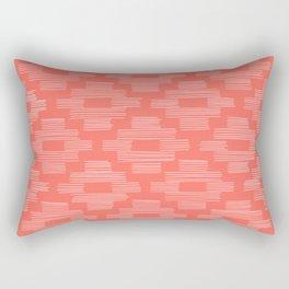 Coral Birdseye Pattern Rectangular Pillow