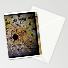Smile for me Daddy Stationery Cards