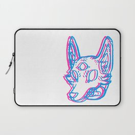 3D Space Coyote Laptop Sleeve