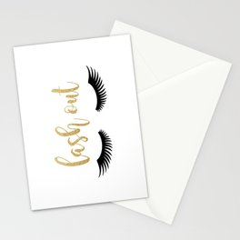 Lash Out Stationery Cards