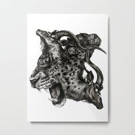 Bound & Tangled Metal Print
